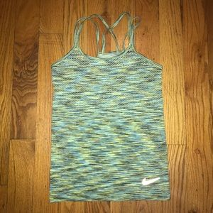 Nike Dri Fit Strappy Back Tank